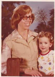 Me with my mom, circa 19/mumble/mumble/