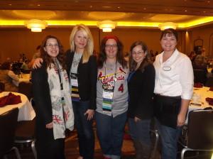 Jen, Kristy, me, Joanna, Stacey